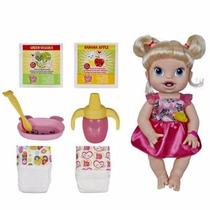 Boneca Bebê Baby Alive Loira Hora De Comer - Hasbro