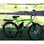 Bicicleta Elétrica Modelo Summer 250 W 36 V C/ Bat. Frog 8ah