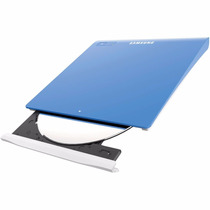 Gravadora Externa Dvd Samsung Ultra Fina Se-208gb - Azul