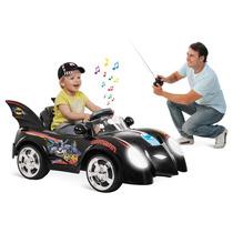 Carro Elétrico Infantil Batman Controle Remoto 6v