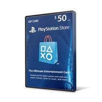 Playstation Network Card Psn Card Cartão Psn $ 50 Imediato