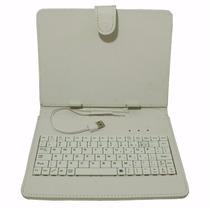 Capa Case Para Tablet Com Caneta E Teclado 7 E 8 Polegadas
