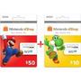 Cartão Nintendo 3ds Wii U Eshop Cash Card $60 Envio Imediato