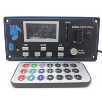 Placa P/ Amplificador -modulo Usb Mp3/wav/wma Bluetooth