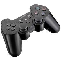 Controle Joypad Dual Shock Sem Fio Ps3/ps2/pc - Multilaser