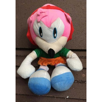 Pelúcia Sonic Hedgehog Amy Grande 40 Cm
