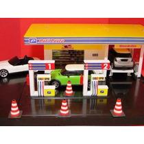Mini Posto Combustivel Maquete Diorama Caminhão Off Road