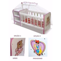 Brinquedos| Berço Boneca Infantil | Cômodas | L30 A36 P78cm