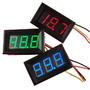 Voltímetro Digital 0~100v 3 Fios C/ Remote Bateria Carro Som