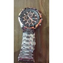 Relógio Masculino Curren Aço Inox Water Resist Original