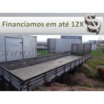 Carroceria Madeira 8,50 X 2,55 Mts P/ Caminhão Truck