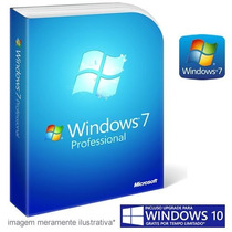 Chave Windows 7 Pro Professional Original Garantia 1 Ano