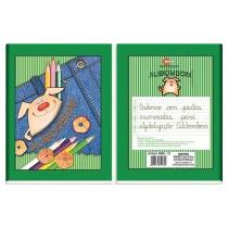 Caderno Brochurao Alibombom 80fls (verde)