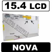 Tela 15.4 Lcd Para Notebook Itautec W7630 W7635 W7650 Nova