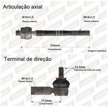 Ponteira Terminal Braço Axial Articulador Cerato 04/08