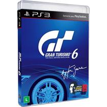 Jogo Gran Turismo 6 Para Ps3 /semi Novo/barato!!!