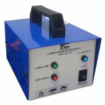 Carregador De Bateria   300 Amp, Chupa Cabra, Lento E Rápido