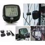Velocímetro, Odômetro E Computador Digital Bike 14 Funções
