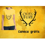 Camiseta Baby Look Ours Is The Fury. Game Of Thrones