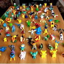 Kit Coleção Pokémon 144 Bonecos Miniaturas Pikachu 2~4cm
