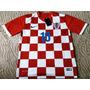 Camisa Seleção Croácia Vermelha - Modric 10 Eurocopa 2016