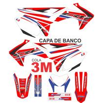 Adesivos Crf 230 + Capa De Banco - Gráficos Cola 3m