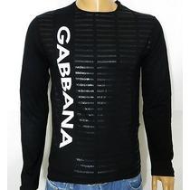 Camisa Dolce & Gabbana Vertical P E M Armani Ea Ga Gucci