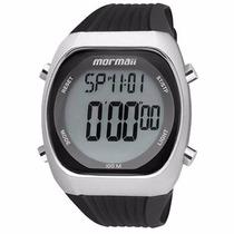 Relógio Mormai Pulseira De Borracha E Caixa De Aço Y11099/8p