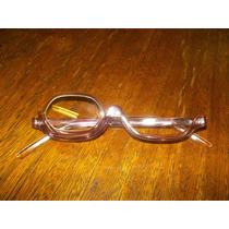 Óculos De Maquiagem Flip Lilas Com Estojo Lente +2,00. Lindo