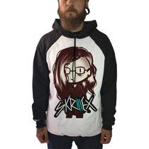 Blusa Moletom Skrillex Camiseta Dj Dubstep Bandas Rock Skate