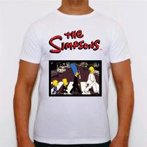 Tshirt Personalizada Os Simpsons Homer Bart Swag Plt