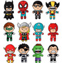 Vetores Super Herois Infantis Corel Sublimação Png Imagens