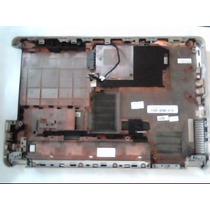 Carcaça Base Notebook Hp G42 220br - Brinde Conector Do Dvd