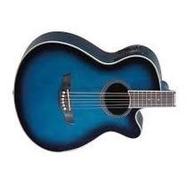 Violão Tagima Acustico - Dallas Tuner - Azul Transparente