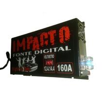 Fonte Automotiva Impacto 160a 14,4v C/ Voltimetro Automatico