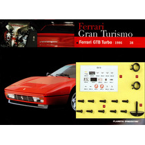Fascículos E Peças 38, 39, 40, 41, 42, 43 Ferrari Enzo 1/10