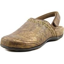 Vionic Telma Mulheres Rodada Toe Sintéticos Tamancos Bronze
