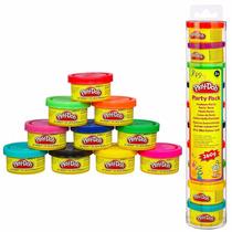 Play Doh Massa De Modelar C/ 10 Mini Potes Hasbro 22037