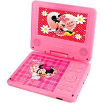 Dvd Portátil Disney Pdt-7150 - 7 Polegadas - Minnie - Rosa