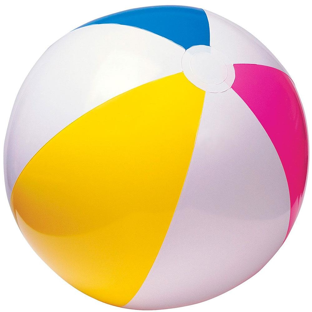 Bola praia colorida infantil 61cm intex r 9 90 em for Bolas piscinas infantiles