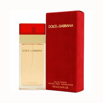Dolce & Gabbana Red Vermelho Eau De Toilette 100ml Feminino