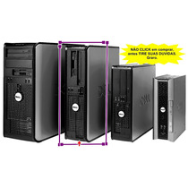 Cpu Dell Optiplex 760 Core 2 Duo 2.8ghz+hd80gb+1gb+dvd/rom