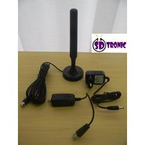 Antena Interna P/tv Digital Mdtv-400b 25 Dbi(amplificada)mxt
