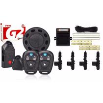 Kit Alarme Taramps Tw20 G2 +trava Elétrica Universal 4 Porta