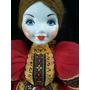 Boneca Porcelana Antiga Russa