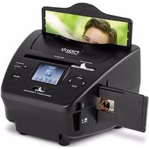 Scanner Digitalizador Slide Filme Foto Pc Sd Usb Ion Pics2sd