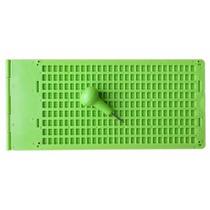 Pauta Reglete Escrita Braille 28 Celas 9 Linhas Pvc + Punçã