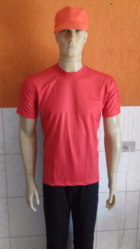 31f3f5e7a Kit 20 Camisetas Poliviscose Lisa Atacado Uniformes Geral. R  289.9