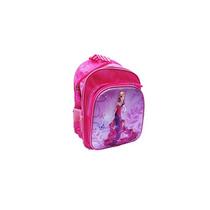 Mochila Escolar Feminina 3d Princesa Borboleta Rosa 12 Bf Br