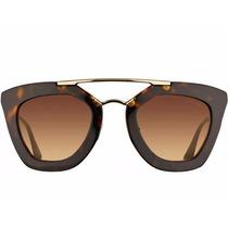 Oculos De Sol Prada Geometric Original 12x Sem Juros